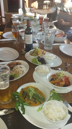 The Crossing Bier Garden: Sharing plates is Filipino style