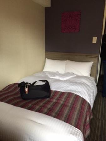 Hotel MyStays Asakusa: Small double bed