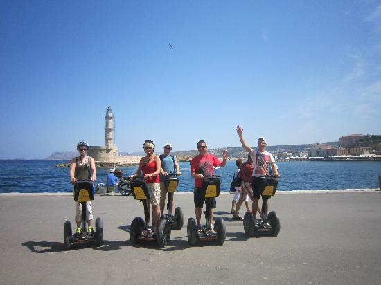 Chania Segway Tours: Chania Old Harbor