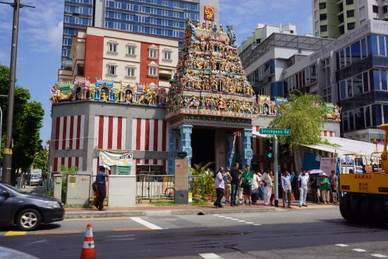 Little India, Singapur: Sri Veeramakaliamman Temple 5