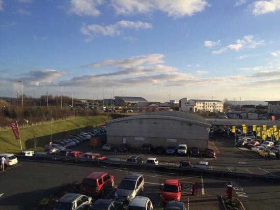 Premier Inn Ayr A77/Racecourse Hotel: Room with a view