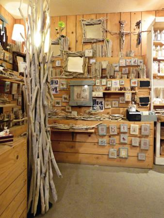 travail du bois flott cadres luminaires objets