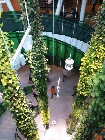 "Emporia Shopping Center: Inside ""garden""!"