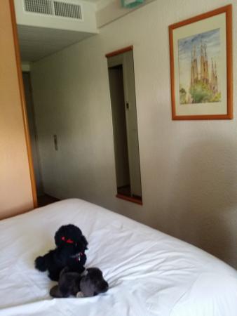 Ibis Compiègne : La chambre