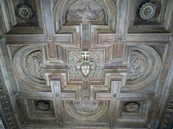 soffitto in legno - Picture of Palazzo Farnese, Caprarola - TripAdvisor