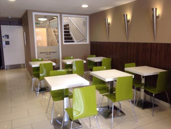 Prince Regent Hotel Excel London: Dining area