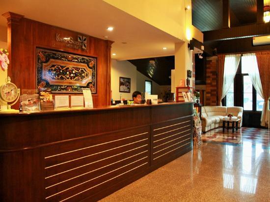 Kong Garden View Resort Chiang Rai: Lobby