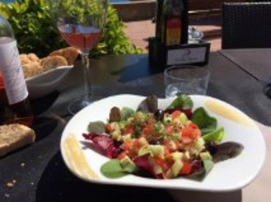 Entr e du menu du jour salade d 39 t picture of la llagosta llafranc tripadvisor - Entree d ete ...