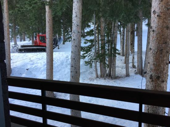 Brighton Lodge: SnowCat wake up service
