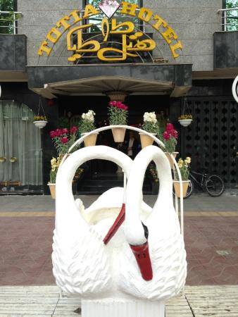 Totia Hotel: Hotel entrance