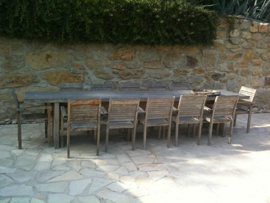 Maison 9: If you want to dine outside