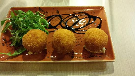 Saffron Arancini - Picture of Pescare Restaurant, Glen Waverley ...