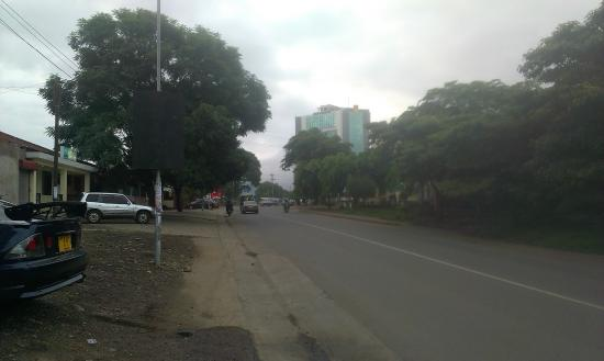 Silver Palm Hotel: road view