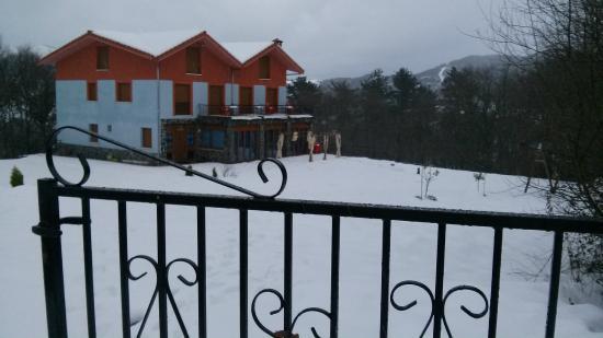 Nieve en Mendi Alai