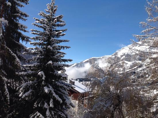 Hotel Regina Terme: Great day for Skiing