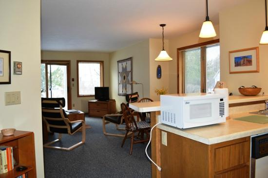 Ephraim Guest House: Photo of our One Bedroom Condo