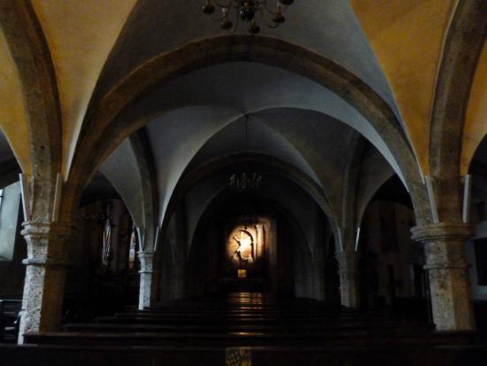 Sankt Blasiuskirche: L'Interno della Chiesa gotica di St. Blasius