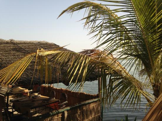Lampsar Lodge: Pour prendre un verre sur le fleuve