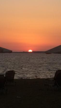 Ammos residence: Il tramonto!
