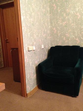 Hotel Dacia: Blick ins Vorzimmer