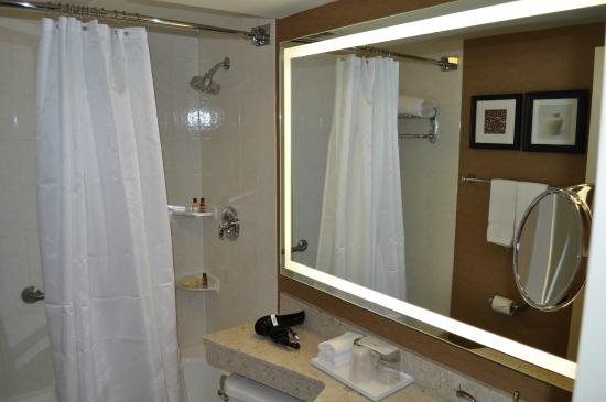 Sheraton Toronto Airport Hotel & Conference Centre: New Backlit Mirrors