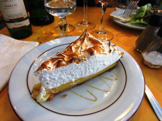 Au bon graillou : Tarta de merengue y limón