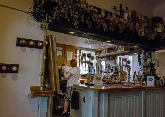 The Ilchester Arms Hotel: The bar