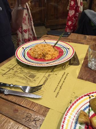 Mammalia : sausage risotto