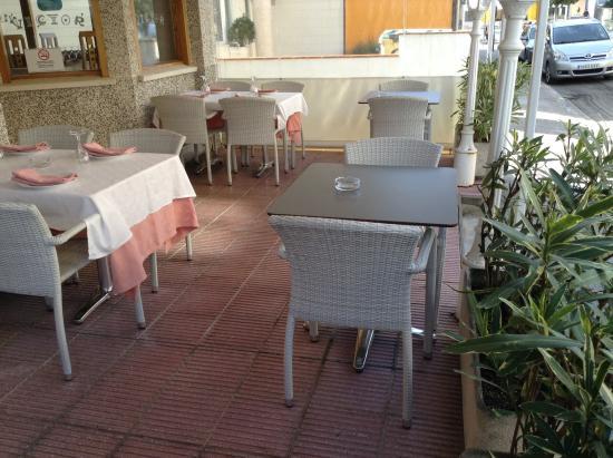 restaurant victor: Una de las terrazas