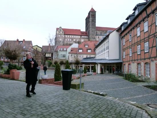 BEST WESTERN Hotel Schlossmühle: Auf dem Schlossmühlenhof
