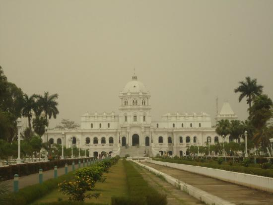 Agartala, India: The State Museum is in the magnificent Ujjayanta Palace.