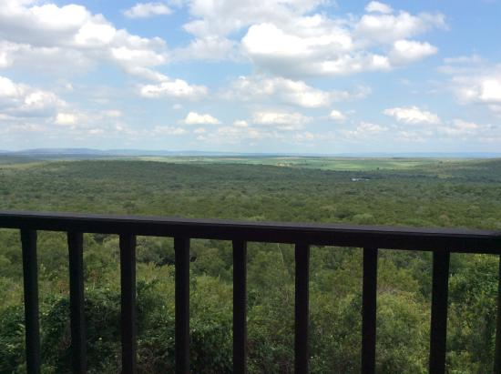 Kwa Madwala Private Game Reserve: View from the bar!