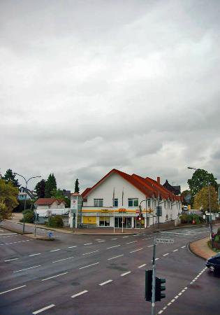 Hotel Hansen: вид из нашего окна