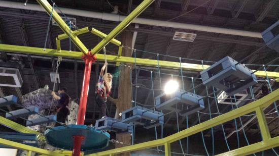 Ropes Course Picture Of Enchanted Forest Utica