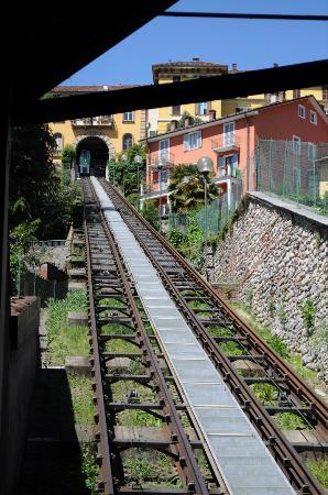 Biella, İtalya: funicolare