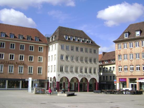 Marktplatz: Market Square, Würzburg, Alemania.