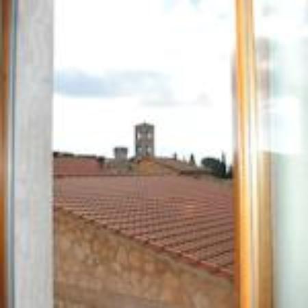 Tellus Hotel Saturnia : Vista dall'ultimo piano.