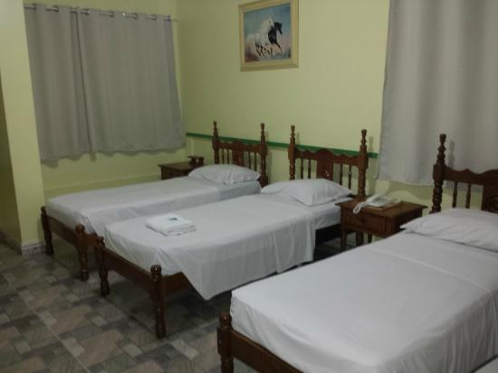 Sombra Palace Hotel: Apartamento triplo