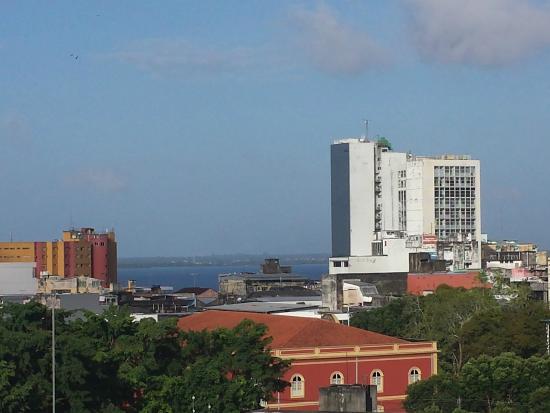 Sombra Palace Hotel: Vista do salão de café da manhã