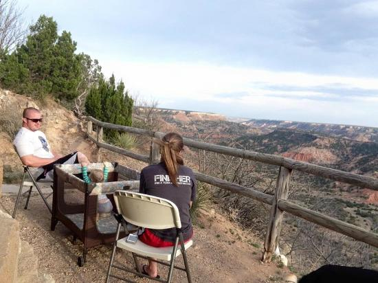 Merveilleux Palo Duro Canyon State Park: Our View From The Goodnight Cabin