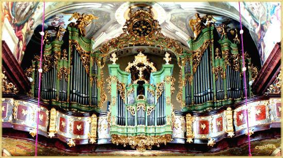 Maria Taferl, ออสเตรีย: Die Rokoko Orgel