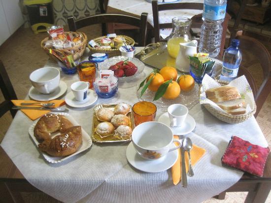 Bed e Breakfast Su Fassoi: COME NEL FAMOSO FILM: COLAZIONE DA....RITA