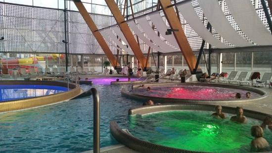 AquaCity Seasons Hotel: Wellness area