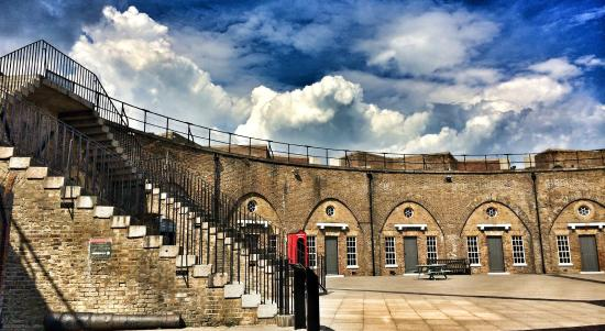 Redoubt Fortress & The Pavilion