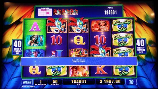 Barona Casino: Jackpot I hit for $1,846