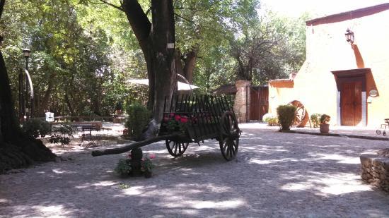 El Marques Hacienda Hotel: recepcion