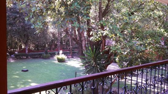 El Marques Hacienda Hotel: jardin