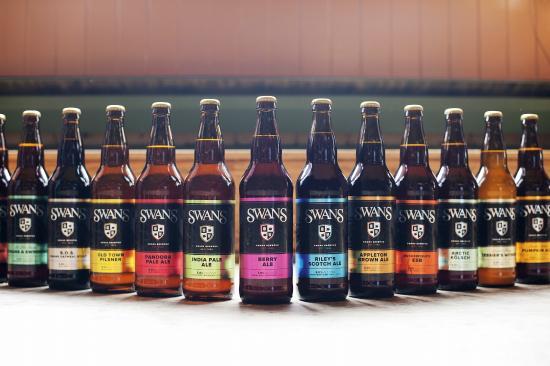 Swans Brewpub: Swans Beers