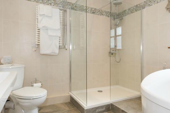 Tyn Rhos Country House: Deluxe Courtyard Bathroom