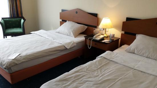 Quality Hotel Plaza Dresden : Doppelzimmer
